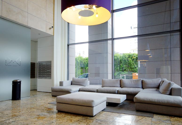 Chopin Apartments Platinum Towers, Βαρσοβία, Καθιστικό στο λόμπι