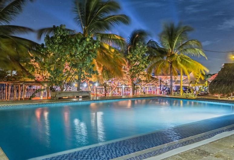 Hotel Fenix Beach Cartagena, Tierra Bomba Island, Piscina