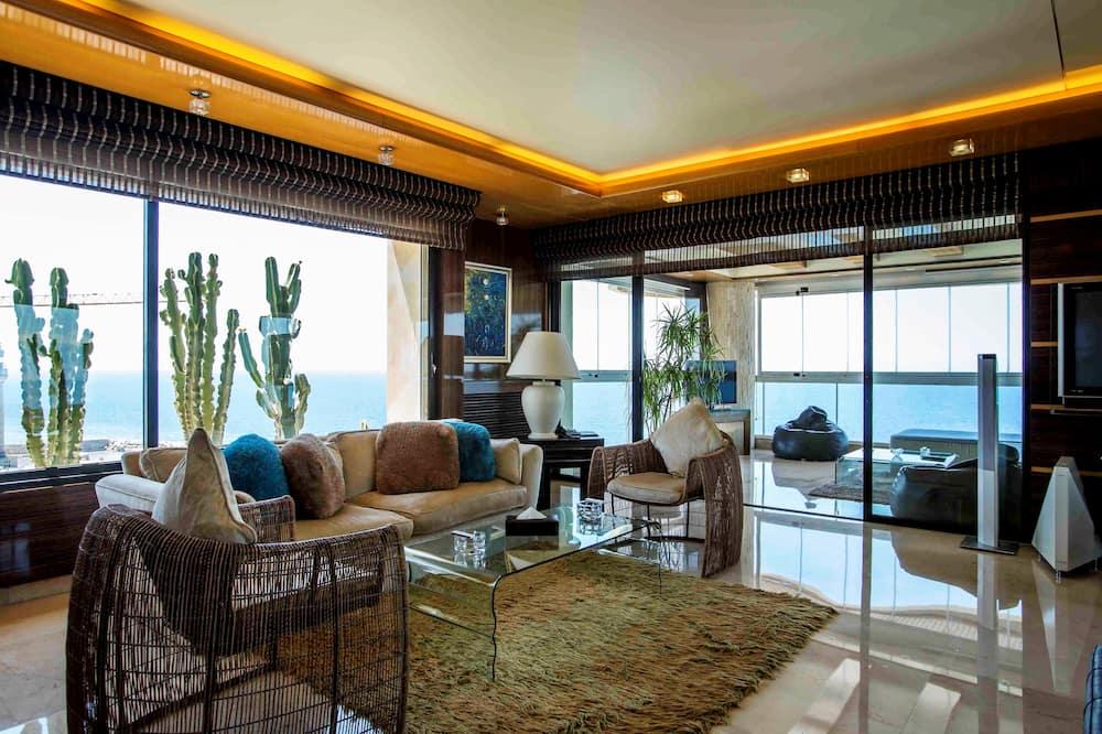 Penthouse - Khu phòng khách