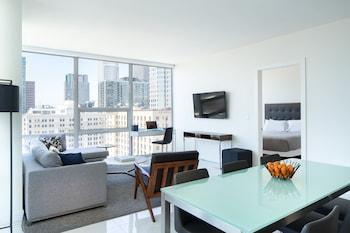 A(z) LEVEL Furnished Living Suites hotel fényképe itt: Los Angeles