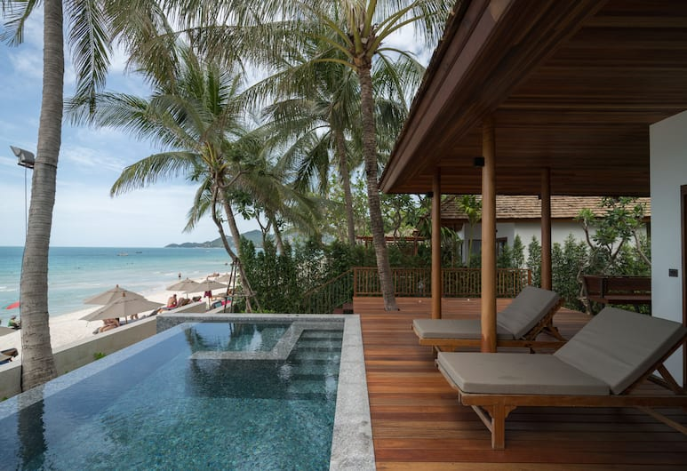 Banana Fan Sea Resort, Koh Samui, Beachfront suite with private pool, Guest Room
