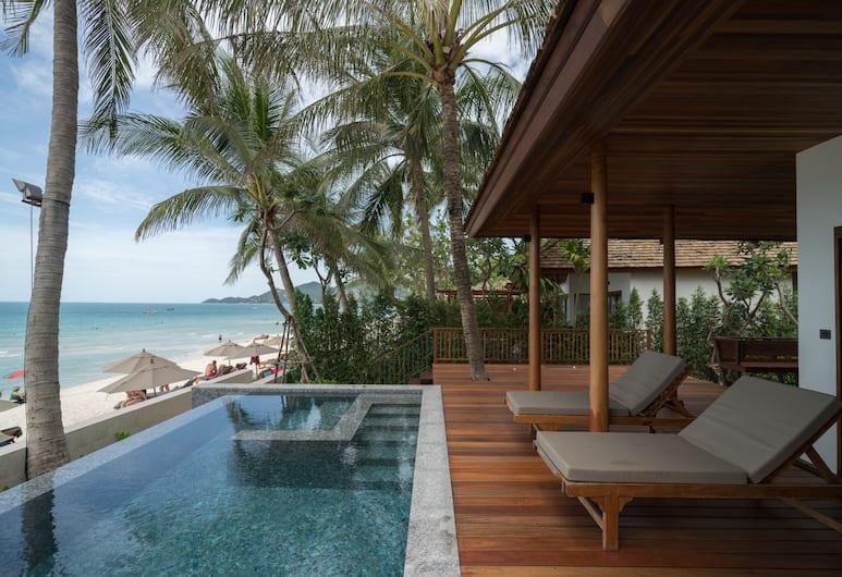 香蕉扇海濱渡假酒店, 蘇梅島, Beachfront suite with private pool, 客房
