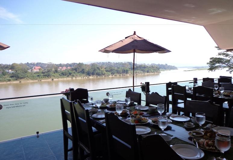 Namkhong Riverside Hotel Chiang Rai, Chiang Khong, Restaurant