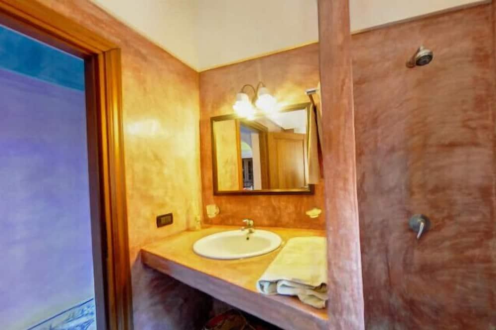Comfort villa, Uitzicht op zee (Dammuso) - Badkamer