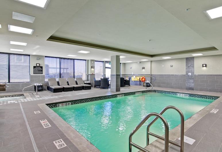 Hampton Inn and Suites Saskatoon Airport Saskatchewan, Saskatoon, Innendørsbasseng