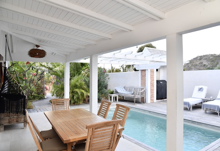 Villa Paradise, St. Barthelemy, Terrace/Patio