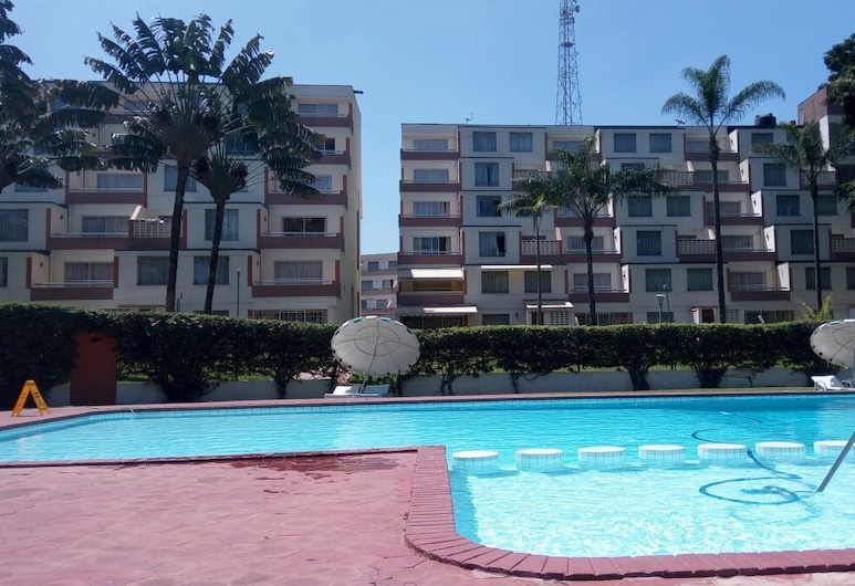 Norfolk Towers Serviced Apartments, Nairobi, Vonkajší bazén