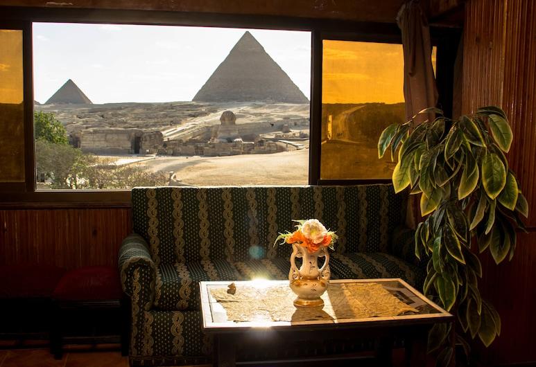 Sphinx Guest House, Giza, Sæti í anddyri