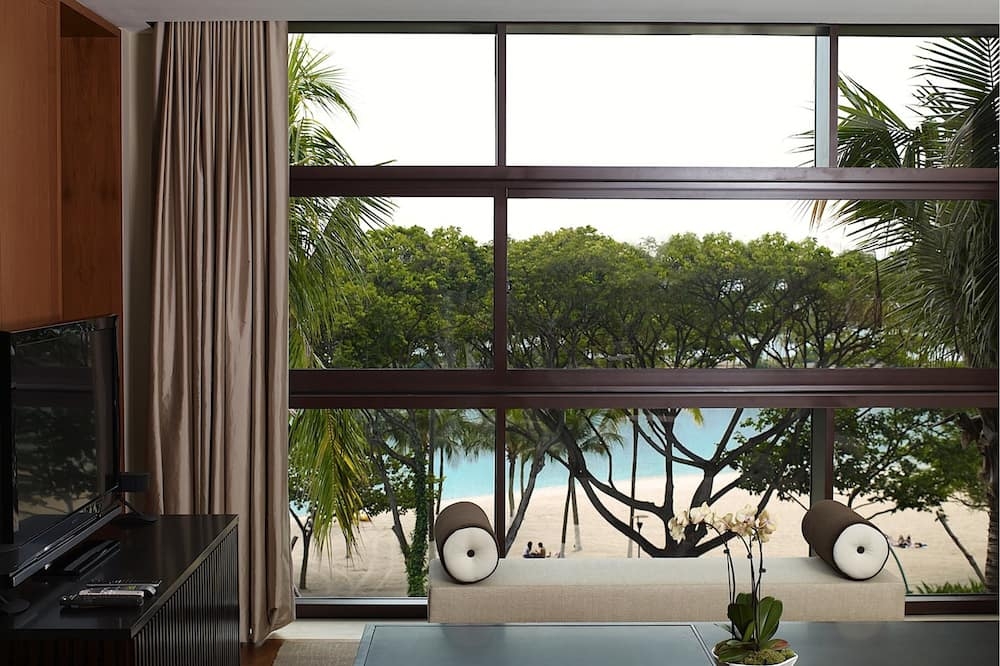 Διαμέρισμα (Condo), 1 King Κρεβάτι, Κουζίνα, Θέα στον Κήπο - Καθιστικό