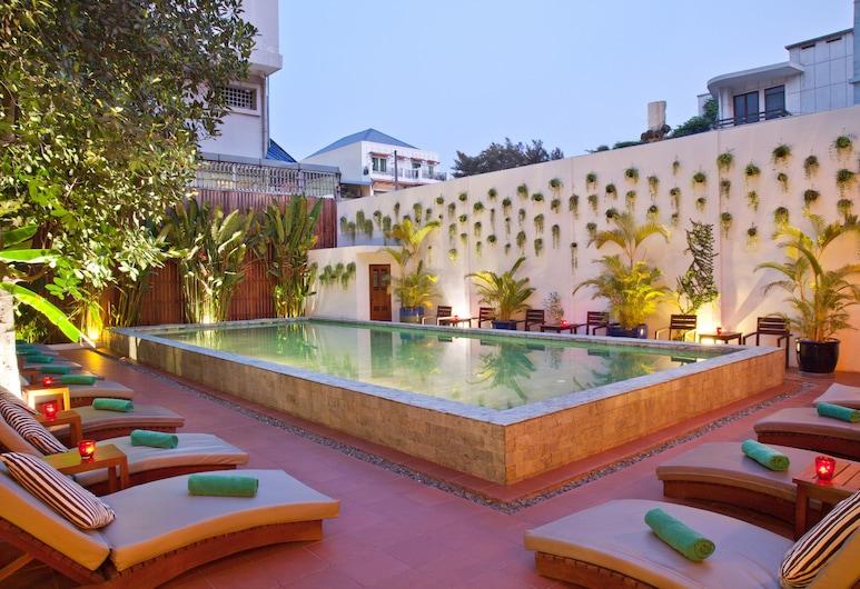 Tea Palace Urban Hotel, Phnom Penh, Piscine en plein air