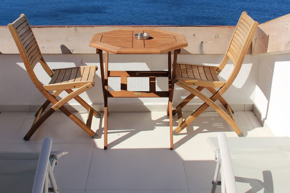 Roof Double or Twin Room,  Sea View - 발코니