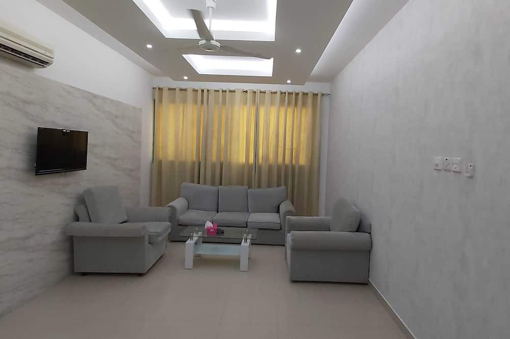 สแตนดาร์ดอพาร์ทเมนท์, 1 ห้องนอน, วิวเมือง - พื้นที่นั่งเล่น