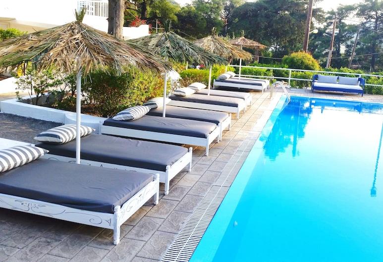 Pine Trees Art Hotel, Rhodes, Outdoor Pool