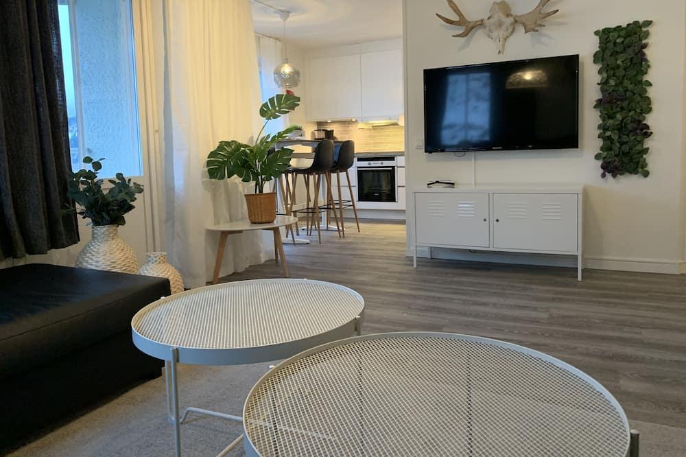 Departamento de lujo, 2 habitaciones, sauna (Åre Torg) - Sala de estar