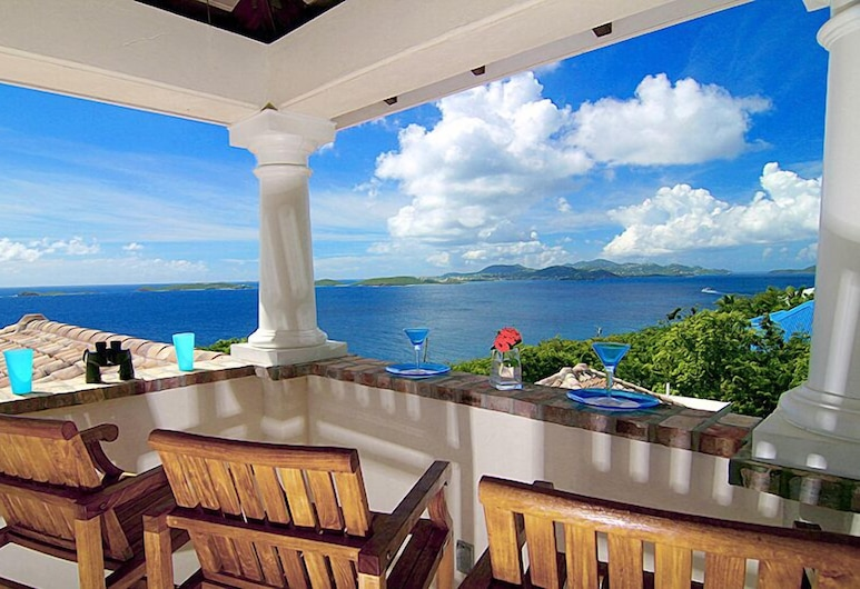 Las Brisas Caribe, St. John, Luxury Villa, 4 Bedrooms, Terrace/Patio