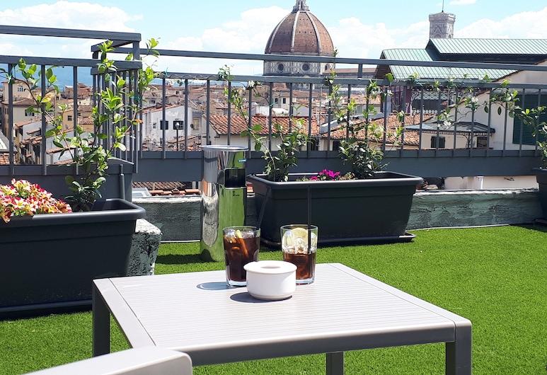 Hotel Cantoria, Florenz, Terrasse/Patio