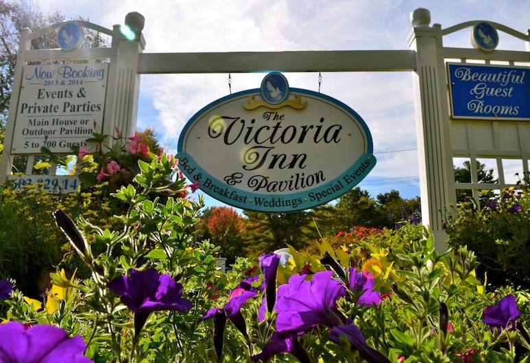 The Victoria Inn Bed & Breakfast, Hampton, Hotellets front