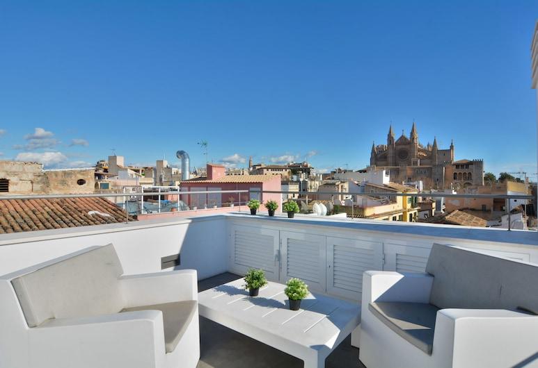Lonja Suites Apartments, Пальма-де-Майорка, Апартаменты, 2 спальни, терраса (Attic), Терраса/ патио