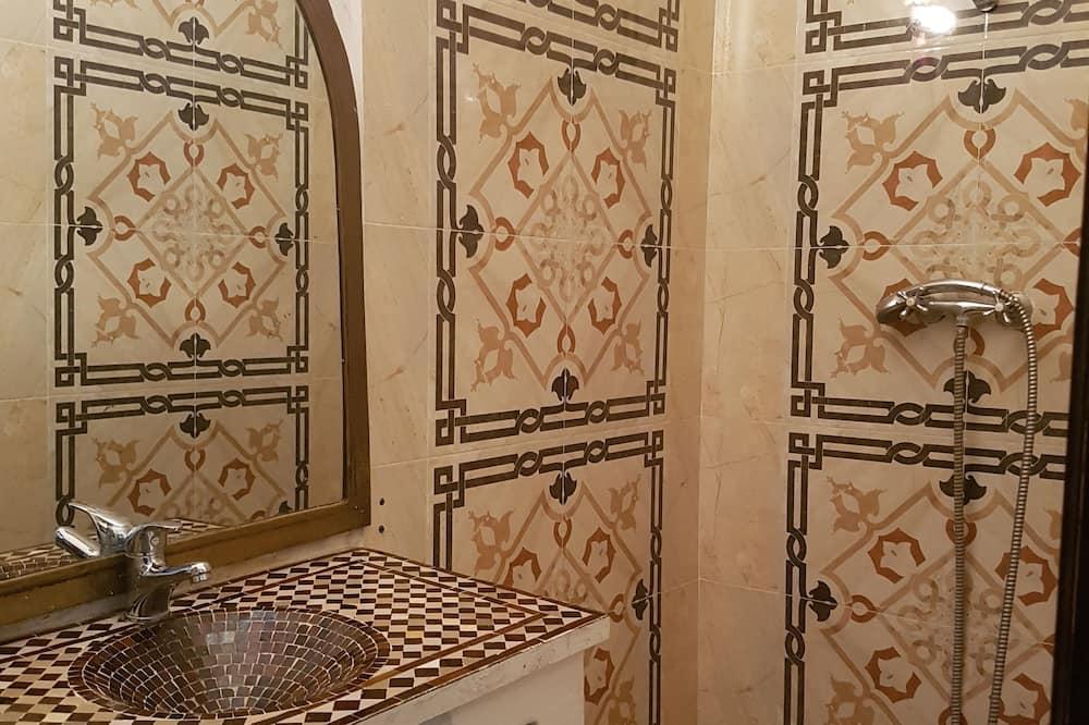 Comfort-dobbeltværelse - eget badeværelse - Badeværelse
