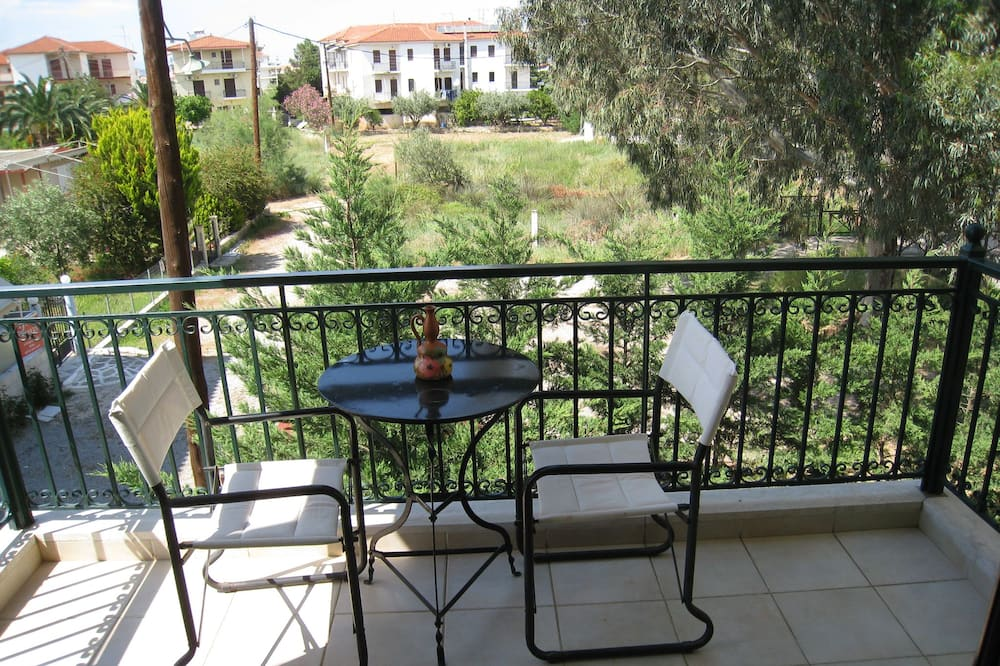 Pagerinto tipo apartamentai (Castle View) - Balkonas