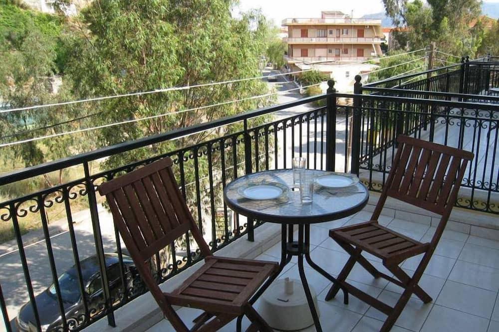 Liukso klasės apartamentai (Castle View) - Balkonas
