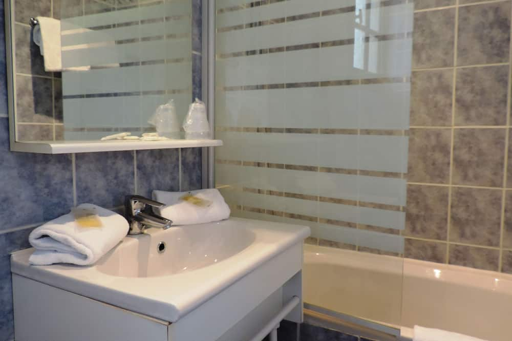 經濟雙人房, 1 張標準雙人床 - 浴室