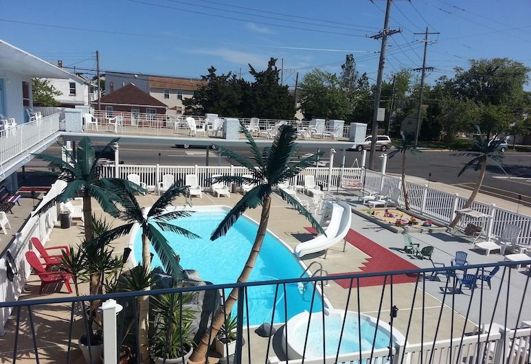 Sand Box Motel, Wildwood, Hồ bơi ngoài trời