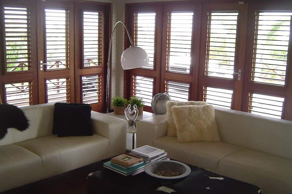 3 Bedroom Villa (Villa Trupial) - Svetainės zona