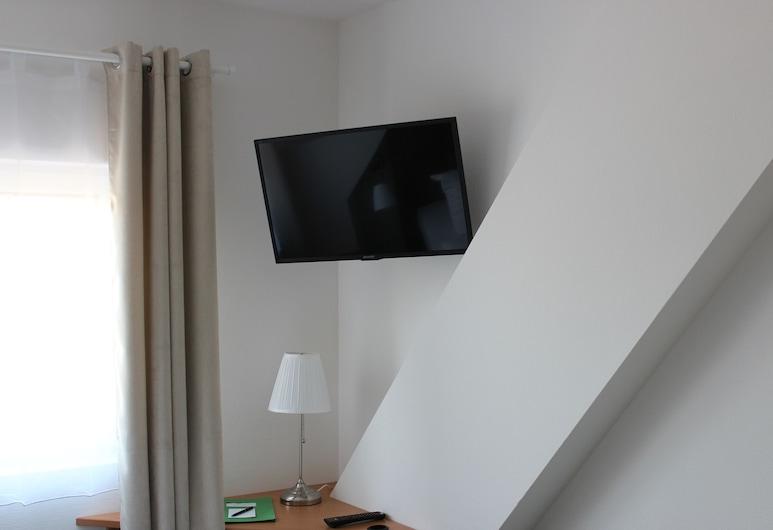 Hotel garni Zur Zwiebel, Peenemünde, Doppelzimmer, Wohnbereich