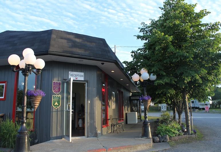 Motel de l'Anse & Camping Rimouski, Rimouski, Recepció