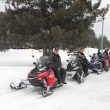 נסיעה ברכב שלג