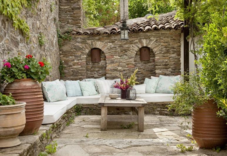 Güllü Konakları, Selçuk, Stone Room With Terrace,Vineyard View, Teras/Veranda