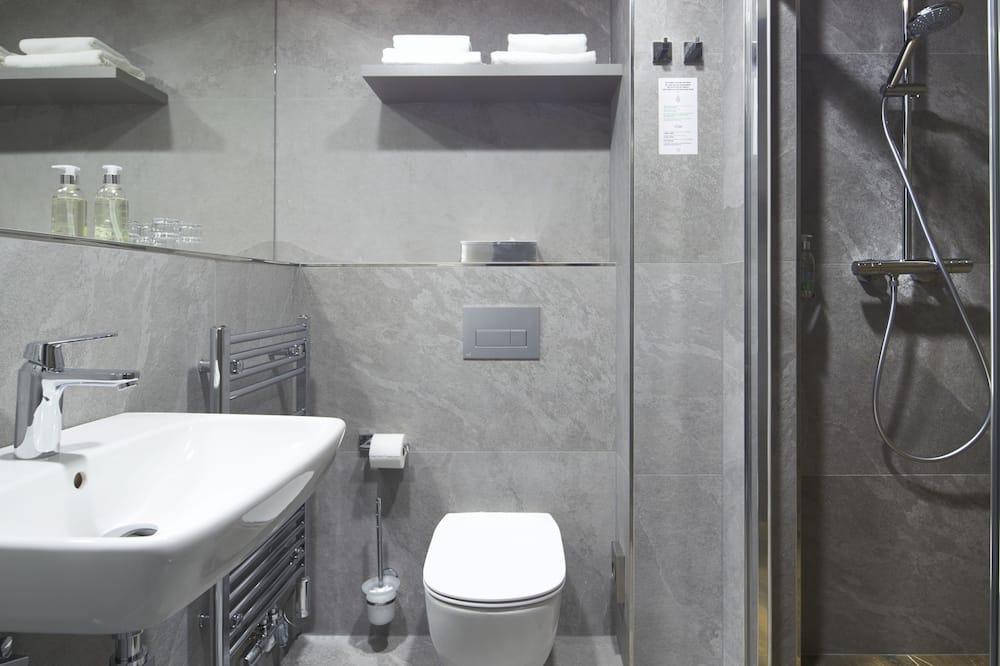 Liukso klasės dvivietis kambarys (1 asmeniui) - Vonios kambarys