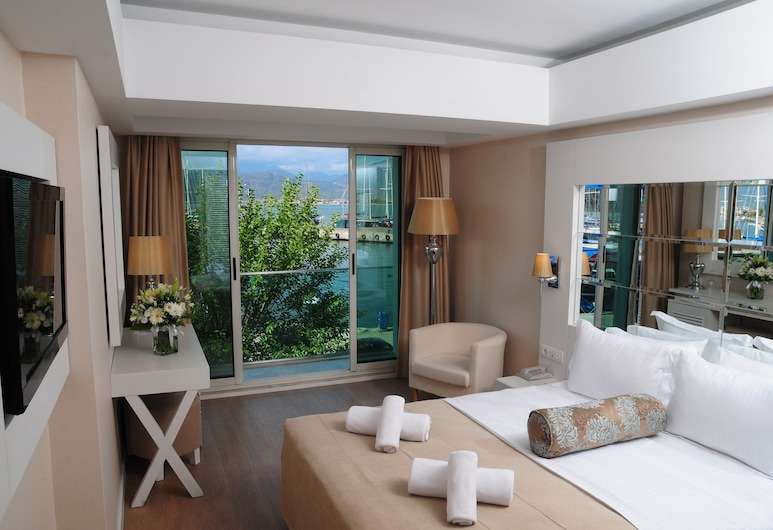 Alesta Yacht Hotel, Fethiye, Standard Room, Sea View, Guest Room View