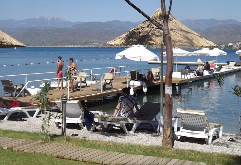 Alesta Yacht Hotel, Fethiye, Plaj