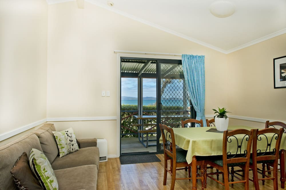 Villa Comfort - 2 sovrum - utsikt mot stranden - mot vattnet - Vardagsrum