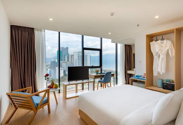 峴港 3 號黃金飯店, 峴港, 行政客房, 部分海景, 客房