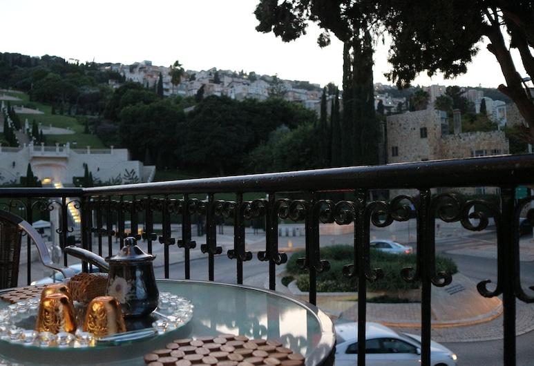 Santa Maria Guest House, Haifa, Paaugstināta komforta villa, Balkons