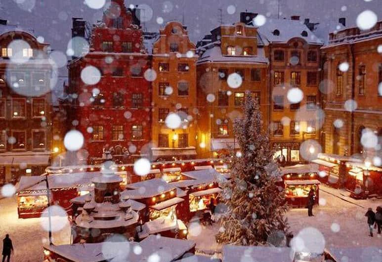 Hotell Den Gyllene Geten, Stockholm, Vue depuis l'hôtel