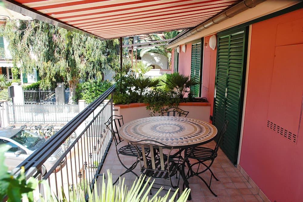 Appartamento, 1 camera da letto, terrazzo (on 2 levels) - Balcone