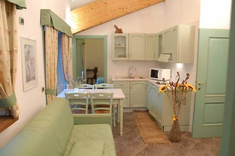 Апартаменты, 1 спальня - Зона гостиной