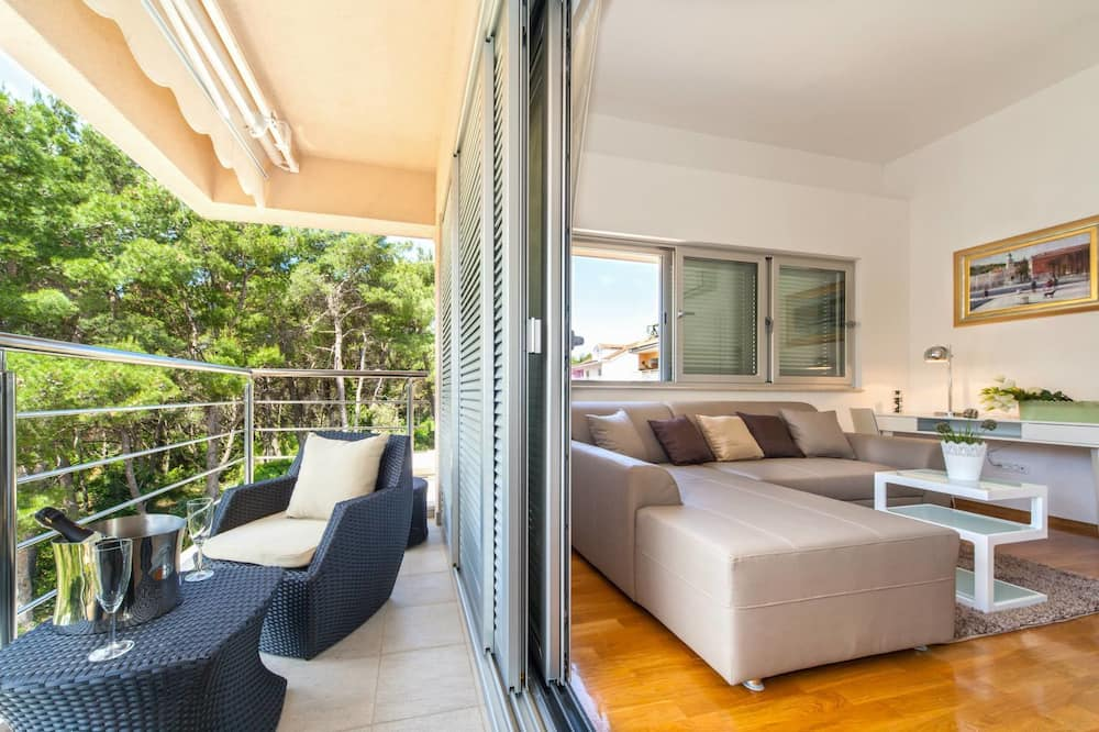 Standard Apartment, 2 Bedrooms, Balcony, Sea View - Terrace/Patio
