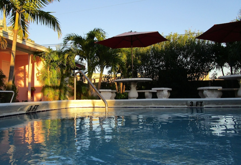 Seahorse Guesthouse, Pompano Beach, Outdoor Pool