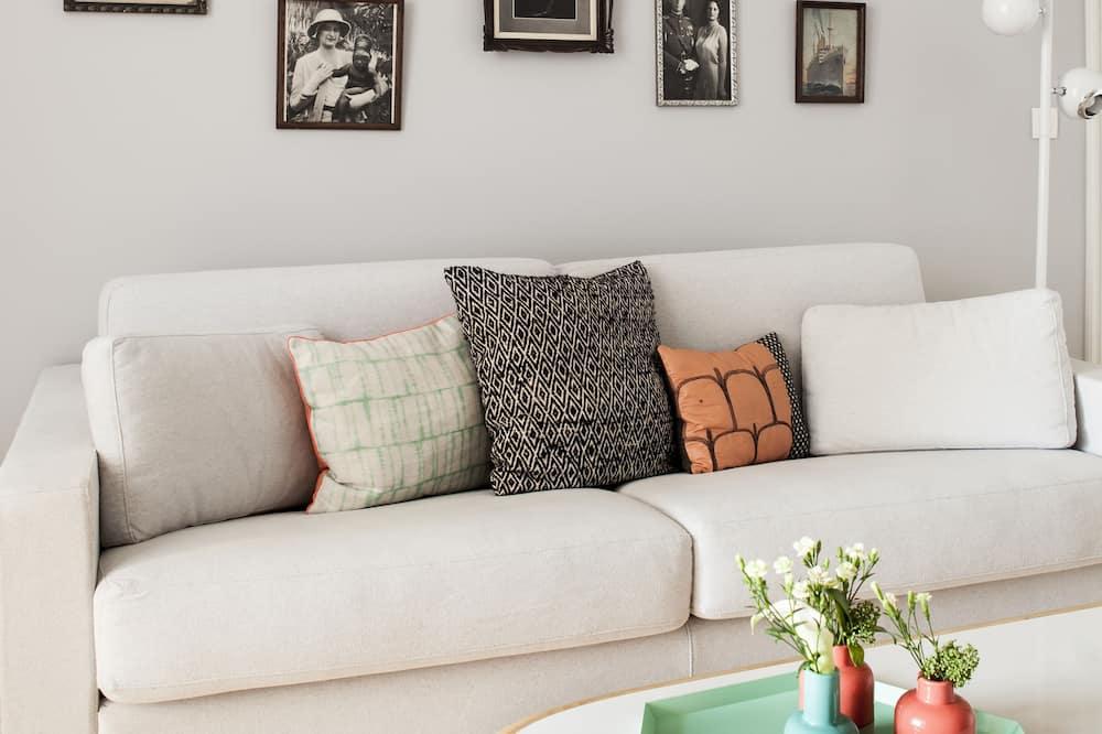 Apartament typu Deluxe Suite - Powierzchnia mieszkalna