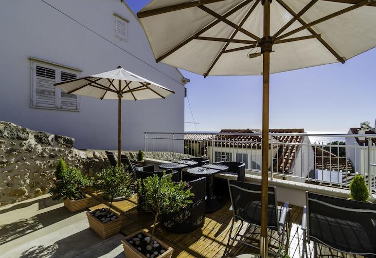 Villa Ankora, Dubrovnik, Standard-studio, 1 keskisuuri parisänky, Merinäköala, Terassi/patio