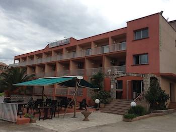 Foto van Hôtel Hibiscus in Propriano