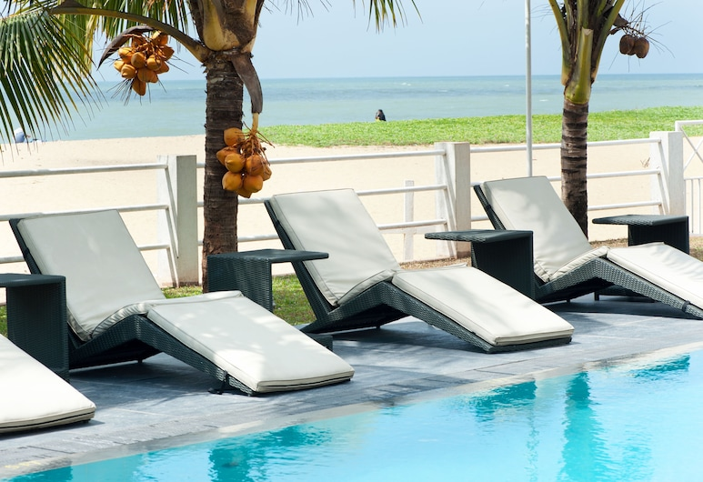 The Beach Apartments, Negombo, Venkovní bazén
