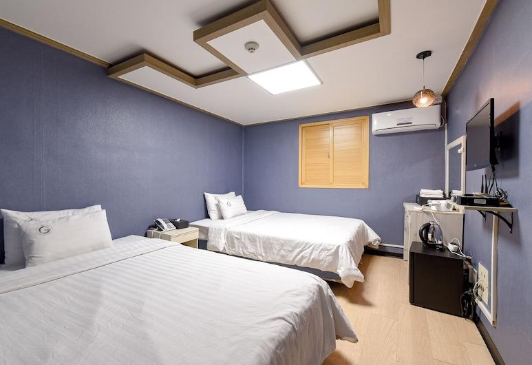 東大門 G 迷你酒店, 首爾, 四人房, 客房