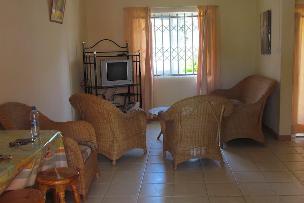 公寓, 泳池景觀 (Duplex) - 客廳