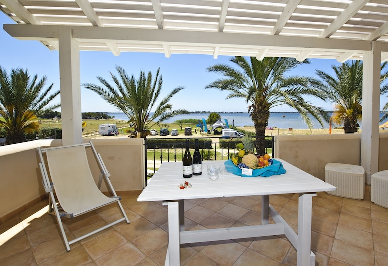 Resort Santa Maria, Marsala, Appartamento, 2 camere da letto, vista mare (Bilocale 2 ), Terrazza/Patio